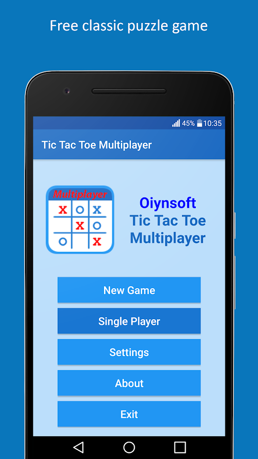 Tic Tac Toe Multiplayer- screenshot