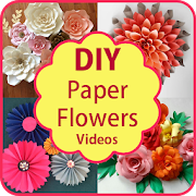 Diy paper flowers paper craft step by step apps on google play diy paper flowers paper craft step by step mightylinksfo