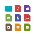 Paper Icons for Solid Explorer Icon