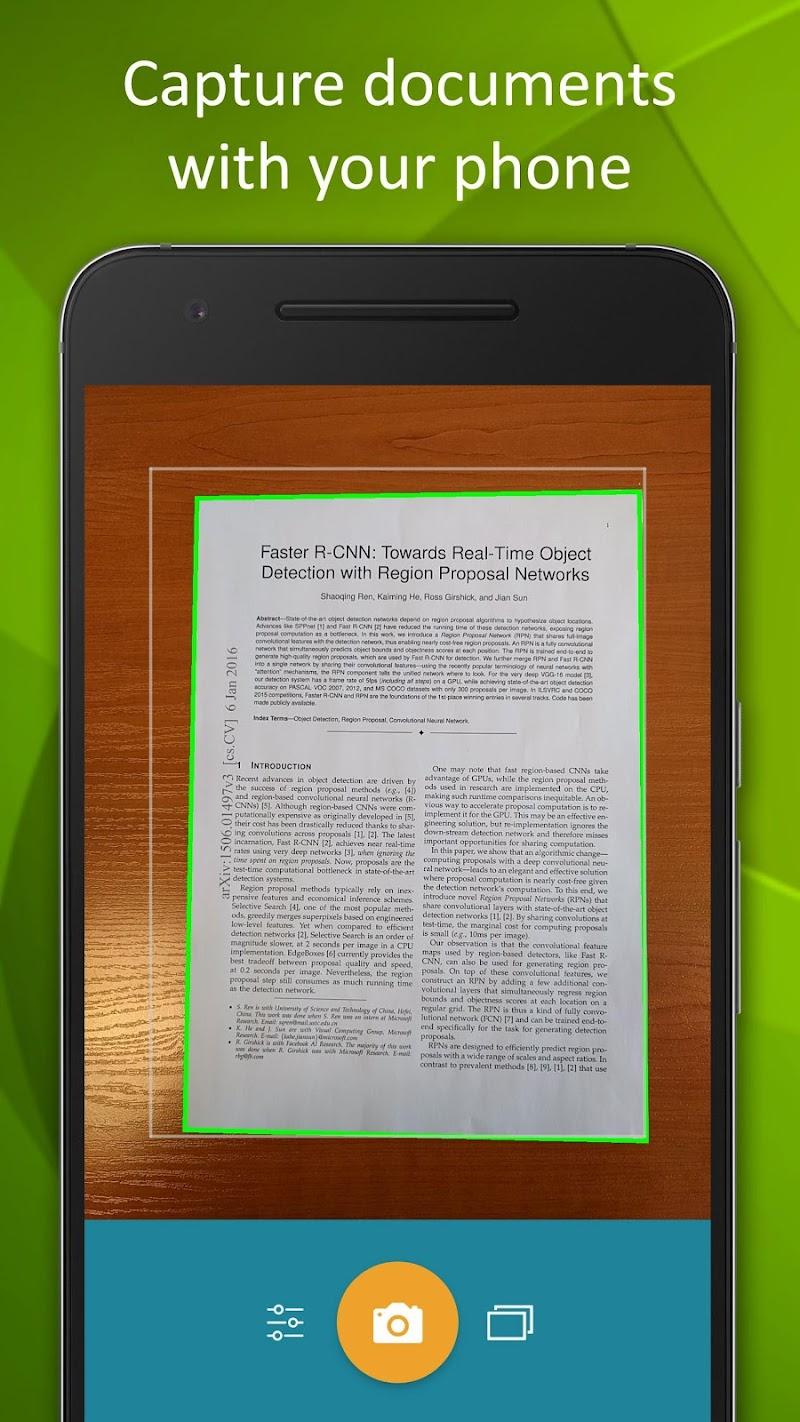 Smart Doc Scanner: Free PDF Scanner App Screenshot 0
