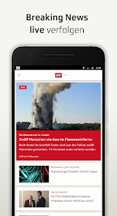 SRF - Nachrichten, Videos und Livestreams- screenshot thumbnail
