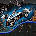 Smash Police Car - Outlaw Run icon