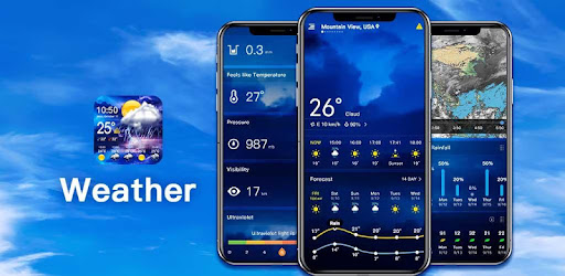 The best weather forecast app, hourly and daily weather, severe weather alerts🌪