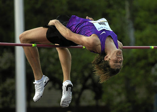 Clearing the bar:  Russia's Ivan Ukhov, Olympic high jump champion at the London Games in 2012, has applied to compete as a neutral athlete in upcoming events including the world championships in August. Picture: REUTERS