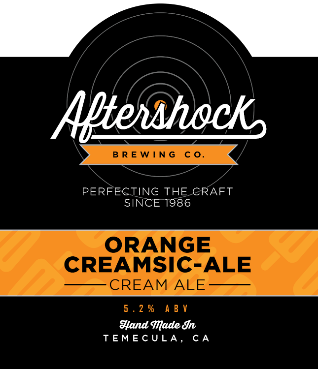 Logo of Aftershock Orange CreamsicAle