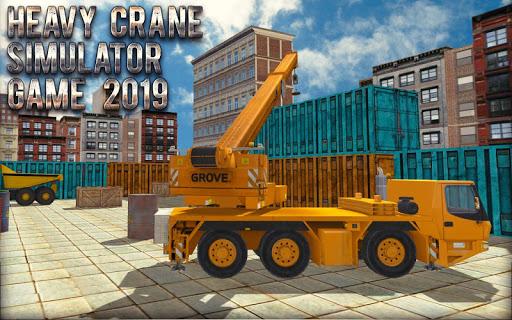 Heavy Crane Simulator Game 2019 u2013 CONSTRUCTIONu00a0SIM 1.2.5 screenshots 6