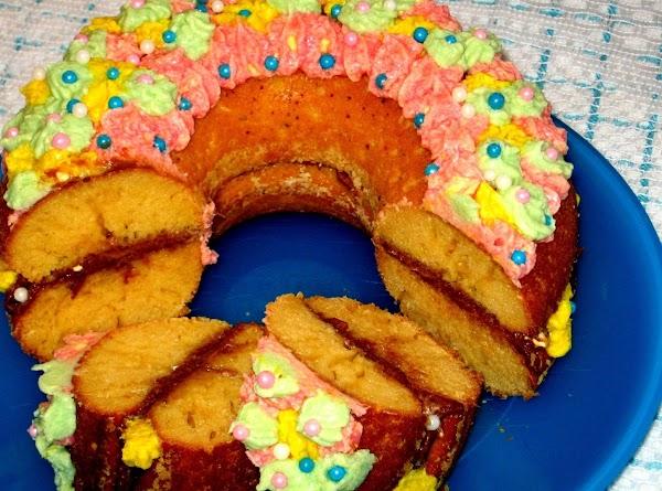 Giant  Donut Recipe