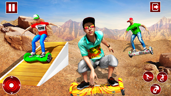 Off Road Hoverboard Stunts for PC-Windows 7,8,10 and Mac apk screenshot 1