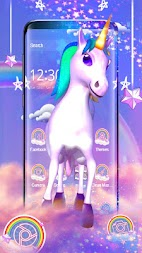 Rainbow unicorn APK screenshot thumbnail 3
