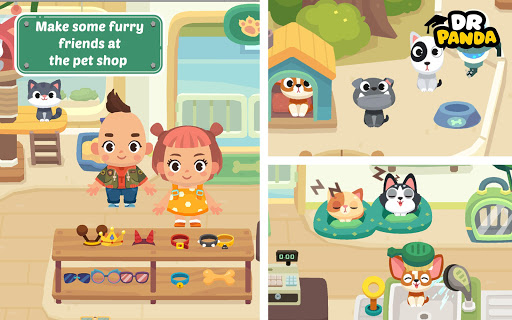 Dr. Panda Town: Mall 1.3 screenshots 14
