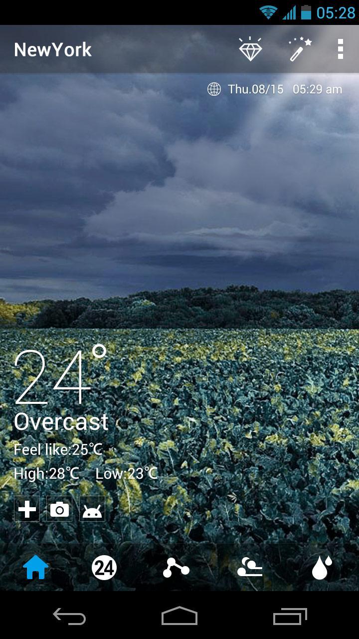 Скриншот Nature Weather Live Background