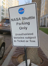 Photo: I know they mean a different kind of shuttle,  but this sign is still pretty funny...