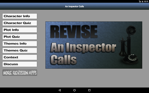 Revise An Inspector Calls- screenshot thumbnail