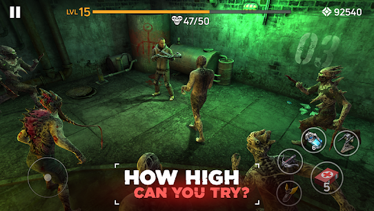Zombie Arena: Fury Shooter Online MOD (Immortality/High Damage) 3