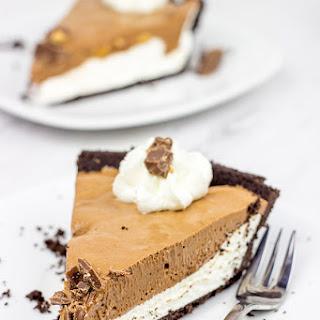 No Bake Chocolate Almond Pie Recipe