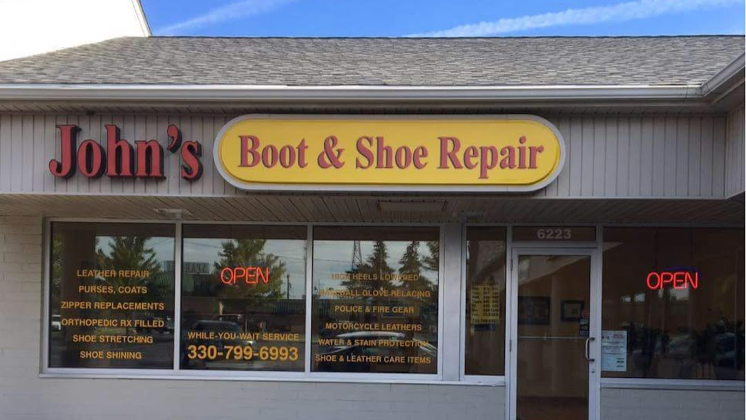 Johns Boot Shoe Repair Shoe Repair Shop In Youngstown