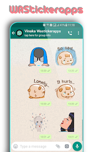 WAStickerApps: Trauriger Aufkleber Screenshot