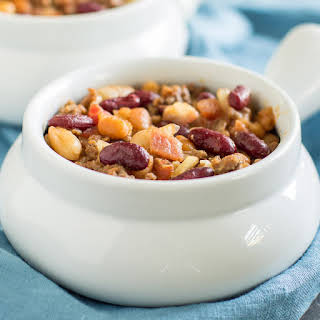 Slow Cooker Calico Beans.