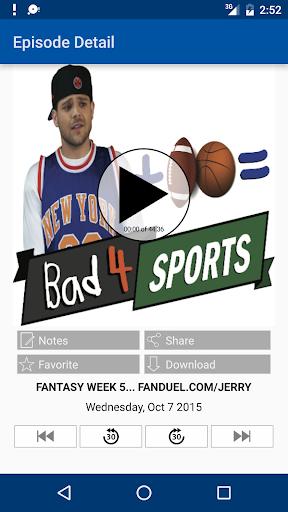 Bad 4 Sports Jerry Ferrara