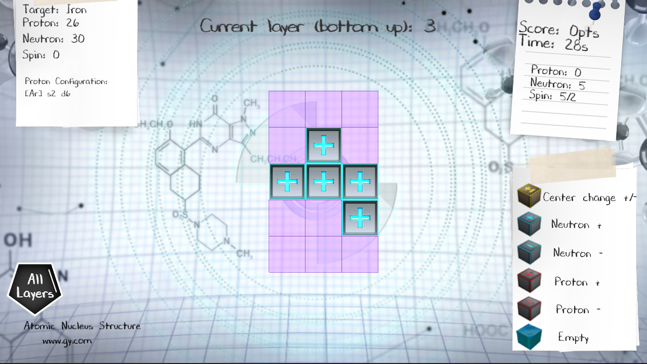 Nuclear Puzzle- screenshot