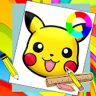 Learn How To Draw Pikachu & His Friends icon