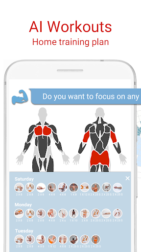 BodBot Personal Trainer:u00a0Workoutu00a0&u00a0Fitnessu00a0Coach screenshots 1