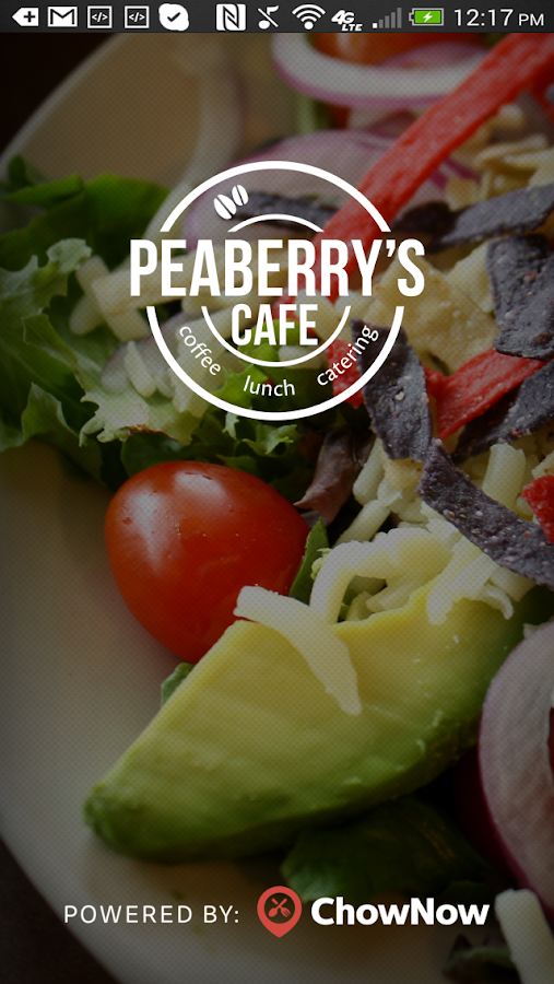 Peaberry's Cafe- screenshot