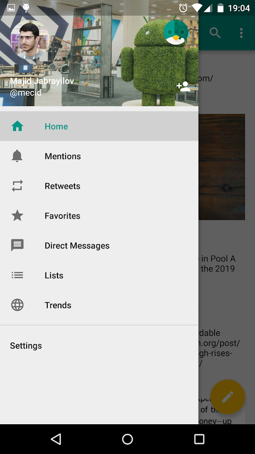Robird for Twitter (Reborn)- screenshot
