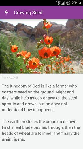 【免費書籍App】Parables of Jesus Christ-APP點子