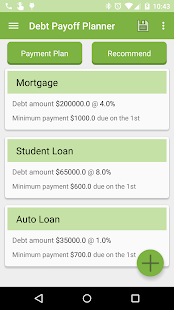 Debt Payoff Planner- screenshot thumbnail