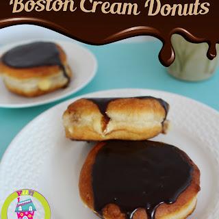 Boston Cream Donuts.