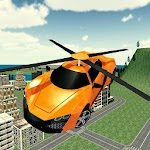 Flying Rescue Helicopter Car 1