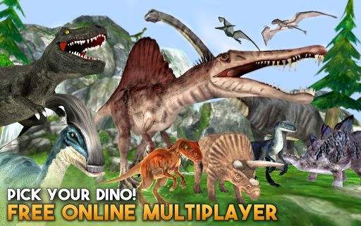 Dino World Online - Hunters 3D  screenshots 2