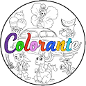 Colorante - Coloring, Painting, Drawing icon