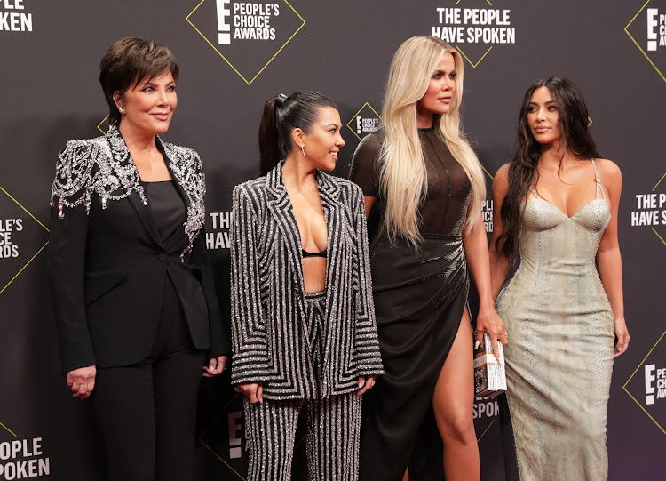 The Kardashian sisters and their mother Kris Jenner.