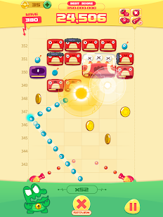 MOMO STRIKE - Endless Block Breaking Game!- screenshot thumbnail