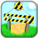 Construction: build the house icon