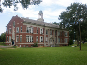Photo: bldg to the left of Savery Library
