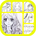 Anime Girl Drawing Tutorial icon