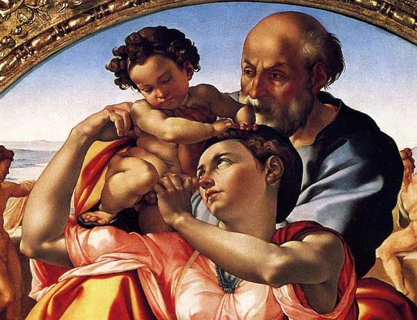 Detail Analysis of Michelangelo's Holy Family #kellybagdanov # homeschool #homeschooling #classicalconversation #charlottemason #classicalconversationresource #classicalconversationcycle1 #charlottemasonpicturestudy #arteducation #arthistory #teachingarthistory #michelangelo #donotondo #holyfamily