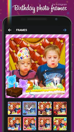 誕生日グリーティングカードフレーム - Google Play の Android アプリ