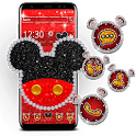Cute Red Mouse Theme icon
