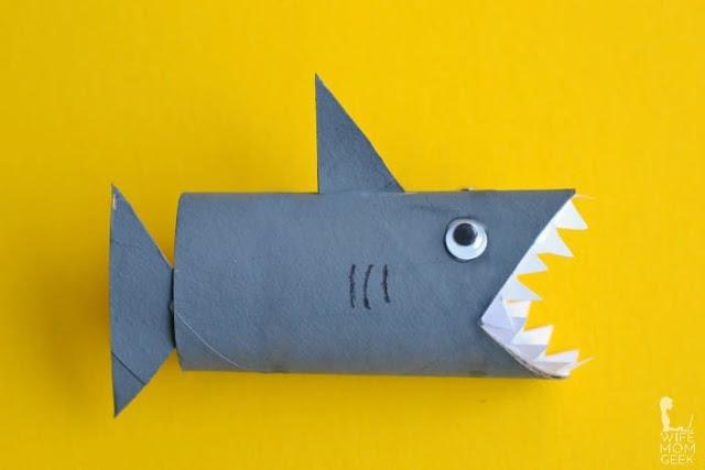 15 Shark Crafts and Activities for Kids
