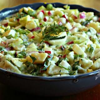 Russian Summer Salad Soup