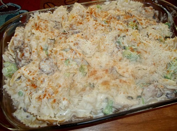 Pour the mixture into prepared pan. Sprinkle the top of casserole with remaining ...