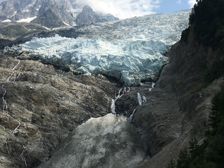 gletsjer des Bossons