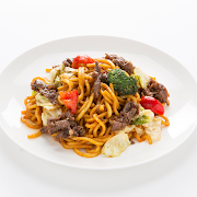 Beef Noodle with Oyster sauce