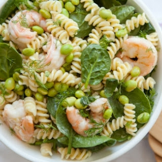 Dilled Shrimp Pasta Salad.
