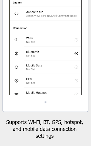OTOSet - Android Automation Device Settings  screenshots 14
