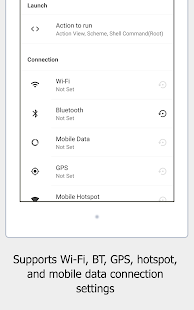 Autoroid - Automation Device Settings Screenshot